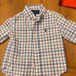 Ralph Lauren toddler boy button down